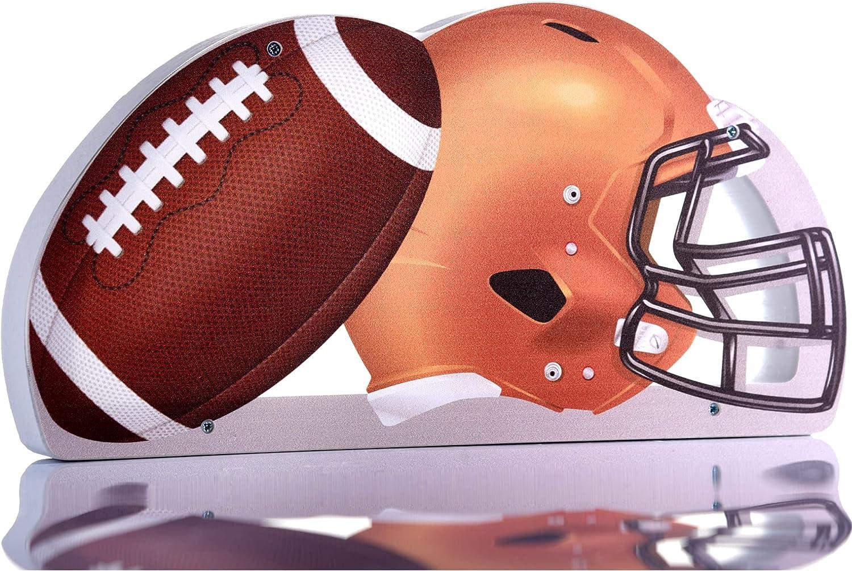 Zeinum American Football Helmet and Ball Coins 400 Reusable Free Shipping Cheap Bargain Gift Pigg Ranking TOP11