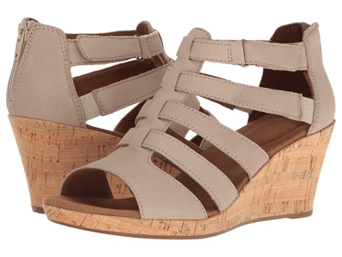 Rockport  Briah Gladiator (New Taupe Nubuck) Womens Shoes
