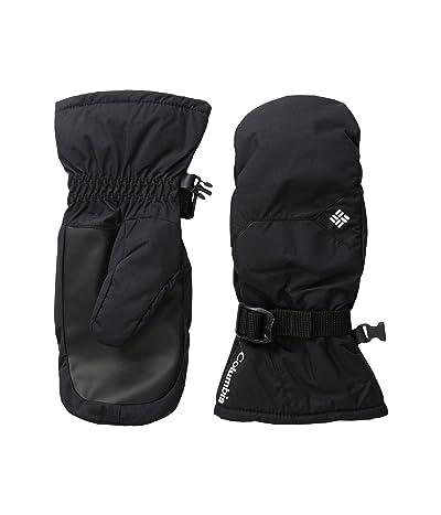 Columbia Kids Whirlibird Mitten (Big Kids) (Black) Ski Gloves