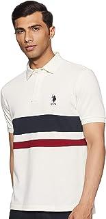US Polo Association Men's Solid Slim fit T-Shirt
