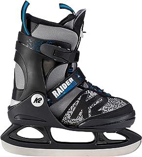 Color Negro y Azul K2 Fit Ice Pro 25B0002.1.1 Patines de Hielo para Hombre