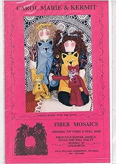 Carol Marie & Kermit Fabric Dolls Pattern
