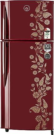 Godrej 236 L 2 Star Frost Free Double Door Refrigerator(RF GF 2362PTH Scr Drmn, Scarlet Dremin)