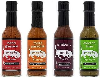 Merfs Condiments Hot Sauce (Merfs Condiments Variety Pack, 4 pack)