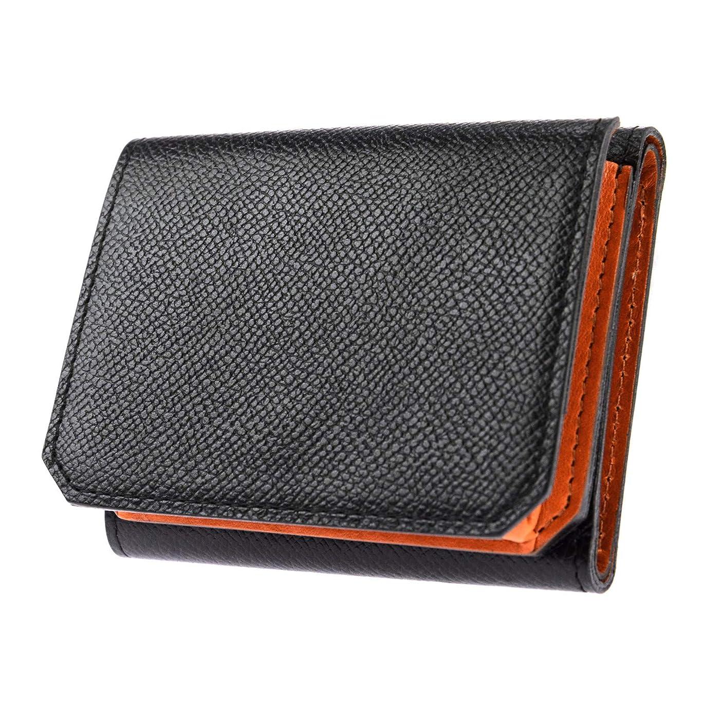 無条件おんどり品種[ゾンネ] チェルケスレザー 三つ折り財布 soz003