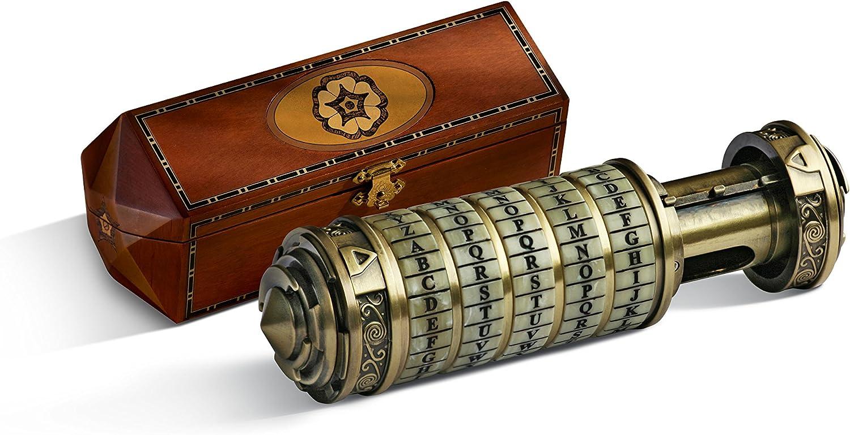 The Noble Collection Da Vinci Code Cryptex, Escala 1: 1, Accesorio, réplica (Accesorio de Vestuario)