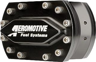 Fuel Pump, Hex Driven, 1260 gph, In-line, 4-Bolt Flange Inlet/Outlet, Aluminum, Black, Each