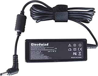 Cloudwind 33W 19V 1.75A Replacement AC Adapter Charger for Asus C200 C200MA C300 C300MA 33W ADP-33AW Adapter, VivoBook S200 X200 X200CA X200MA X201E X202 X202E K200MA F200CA F200MA