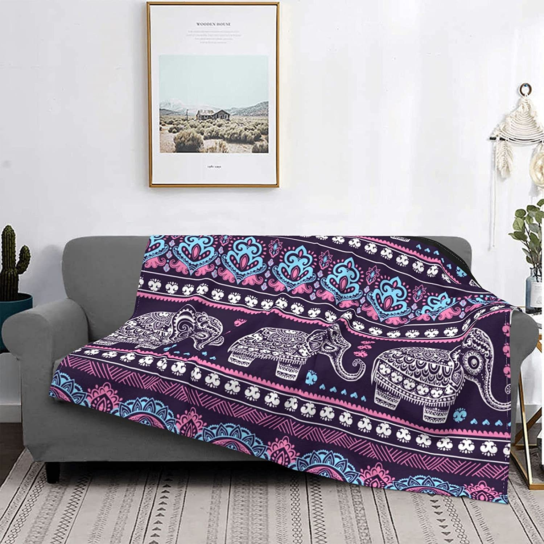 Tribal Ethnic Elephant Sales results San Antonio Mall No. 1 Mandala Micro Throw Ultra- Fleece Blanket