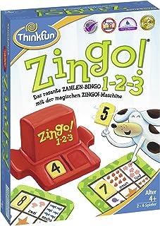 ThinkFun Zingo® 76352 1-2-3 The Fast Number Bingo from 4 Years