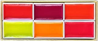 KISSHO GANSAI Japanese Watercolor Paint LUMI Accent 6 Colors Set