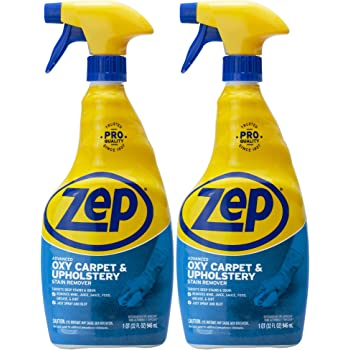 Zep Advanced Oxy Carpet Cleaner 32 ounce ZUOXSR32 (Pack of 2) Great for Upholstery, Carpet, Laundry