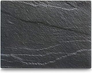 Zeller 26257 Tablas para Cortar, Gris, 40x30x3 cm