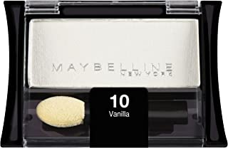 Maybelline New York Expert Wear Eyeshadow Singles, Vanilla 10S, 0.09 Ounce
