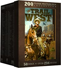 The Trail West - 200 Classic Western Films: Boot Hill - Django Kill! - Angel and the Badman - My Pal Trigger - God's Gun - Kid Vengeance - McLintock! - The Outlaw + 192 more!