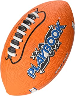Franklin Mini Playbook Football with Spacelace, Yellow, Red, Blue