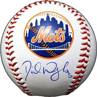 david wright autographed ball