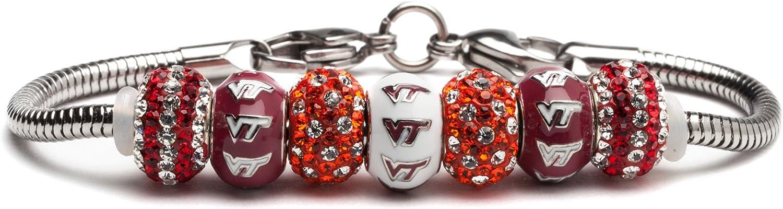 Stone Max 45% OFF Armory Virginia Tech Off Bracelet Hokies Regular discount VT