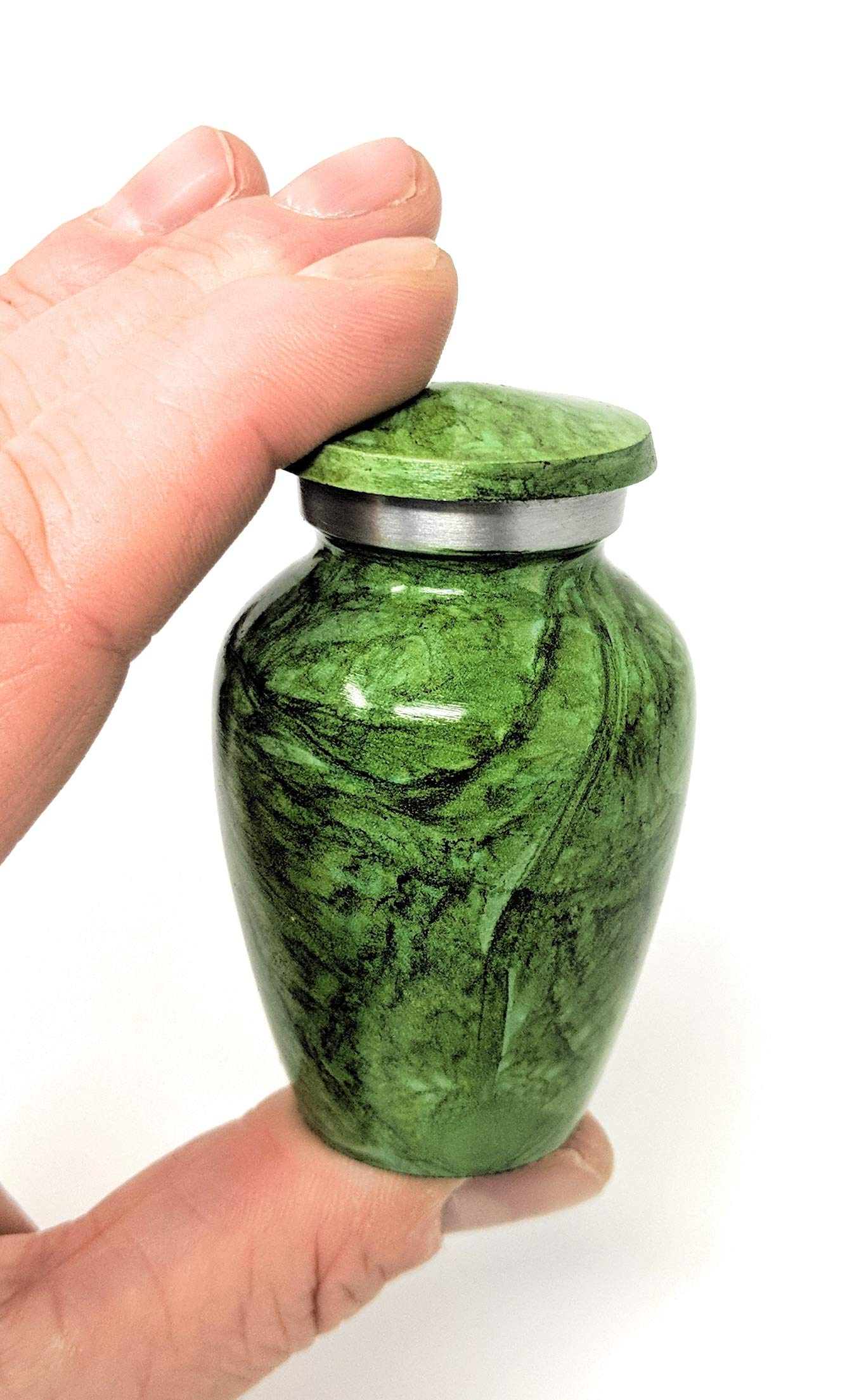 Color : Black WEI Pet Urns Mini Funeral Urn for Adult/&Pet Ashes,Human small Memorial Urns,Handmade Ceramics Keepsake,Burial Urn at Home or Cemetery,dog,cat