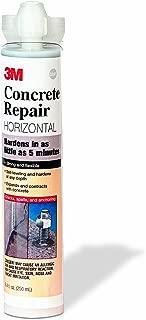 3M Concrete Repair Self-Leveling Gray, 8.4 oz Cartridge/2 mix nozzles