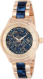 Invicta Women's Angel Quartz Watch with Stainless-Steel Strap, Two Tone, 13 (Model: 24662)