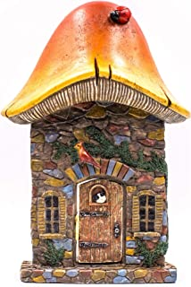 Miniature Fairy Garden Houses, Fairies, Figurines, Animals, Kits, Furniture, and Supplies (Mushroom Fairy Door)
