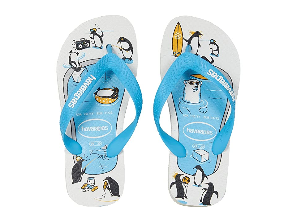Havaianas Kids Top Play Flip-Flop (Toddler/Little Kid/Big Kid) (White) Boys Shoes