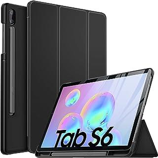 Samsung Galaxy TAB S6 10.5 SM-T860/T865 2019 Case, IVSO Ultra Slim Stand Cover Case for Samsung Galaxy TAB S6 10.5 SM-T860/T865 2019 Tablet, Black