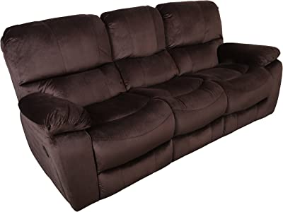 Amazon Com Ashley Furniture Signature Design Hogan Reclining Sofa