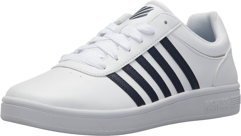 K-Swiss Mens Court Cheswick S Sneaker