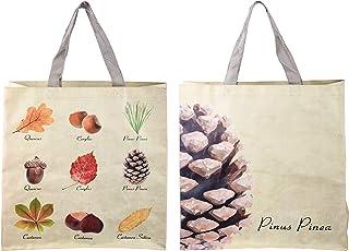 Esschert Einkaufstasche Gemüse Mais//Zwiebel//Lauch//Karotten Optik