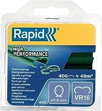 Rapid Hoge prestaties gegalvaniseerd, groen huisdier gecoat, hek varkensringen, VR16, 2-8 mm, 40108797-400 stuks