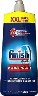 Finish 亮碟 洗碗機專用漂洗劑 增加光亮,?;げA?,XXL包裝 (3 x 1150 ml)
