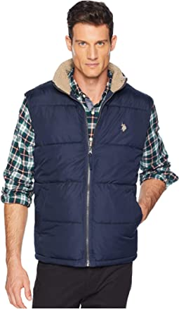 Signature Vest Sherpa Collar