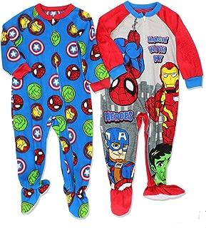 captain america footie pajamas