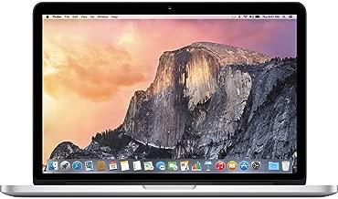 Apple MacBook Pro 256GB Wi-Fi Laptop 13.3in with Intel Core i5 MF840LL/A - Silver (Renewed)