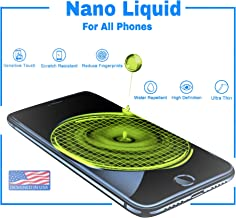 7TECH- 2019 Upgraded Liquid Screen Protector for All Smartphones- Anti Scratch Nano Liquid Glass Screen Protector Tempered Oleophobic, 9H Hardness - for Apple iPhone 6 6s 7 7 Plus 8 X Xs Xr max