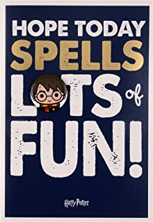 Harry Potter Birthday Card for Kids from Hallmark - with Badge