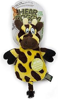 Hear Doggy Flatties with Chew Guard Technology Dog Toy, Giraffe