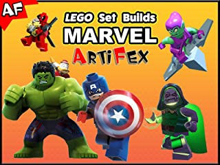 Clip: Lego Set Builds Marvel - Artifex