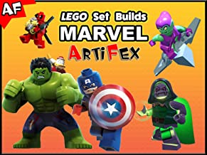 Clip: Lego Set Builds Marvel - Artifex