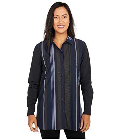 Lysse Schiffer with Contrast Fabric (Astral Multistripe) Women