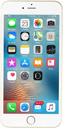 Apple iPhone 6 Plus Dorado 64 GB (Renewed)