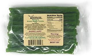 Kennys Licorice Twists, Green Apple, 1 Pound