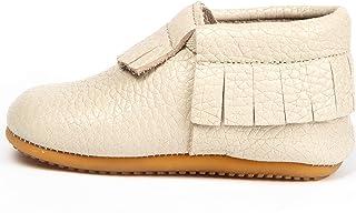 Ella Bonna Leather Baby Moccasins Soft Sole Mini Shoes for Newborns, Infants Boys Girls Unisex