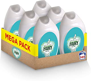 Fairy Non Biological Laundry Gel - 24 Washes (888ml) - Pack of 6