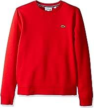Lacoste Men's Brushed Fleece Crew Neck Sweatshirt
