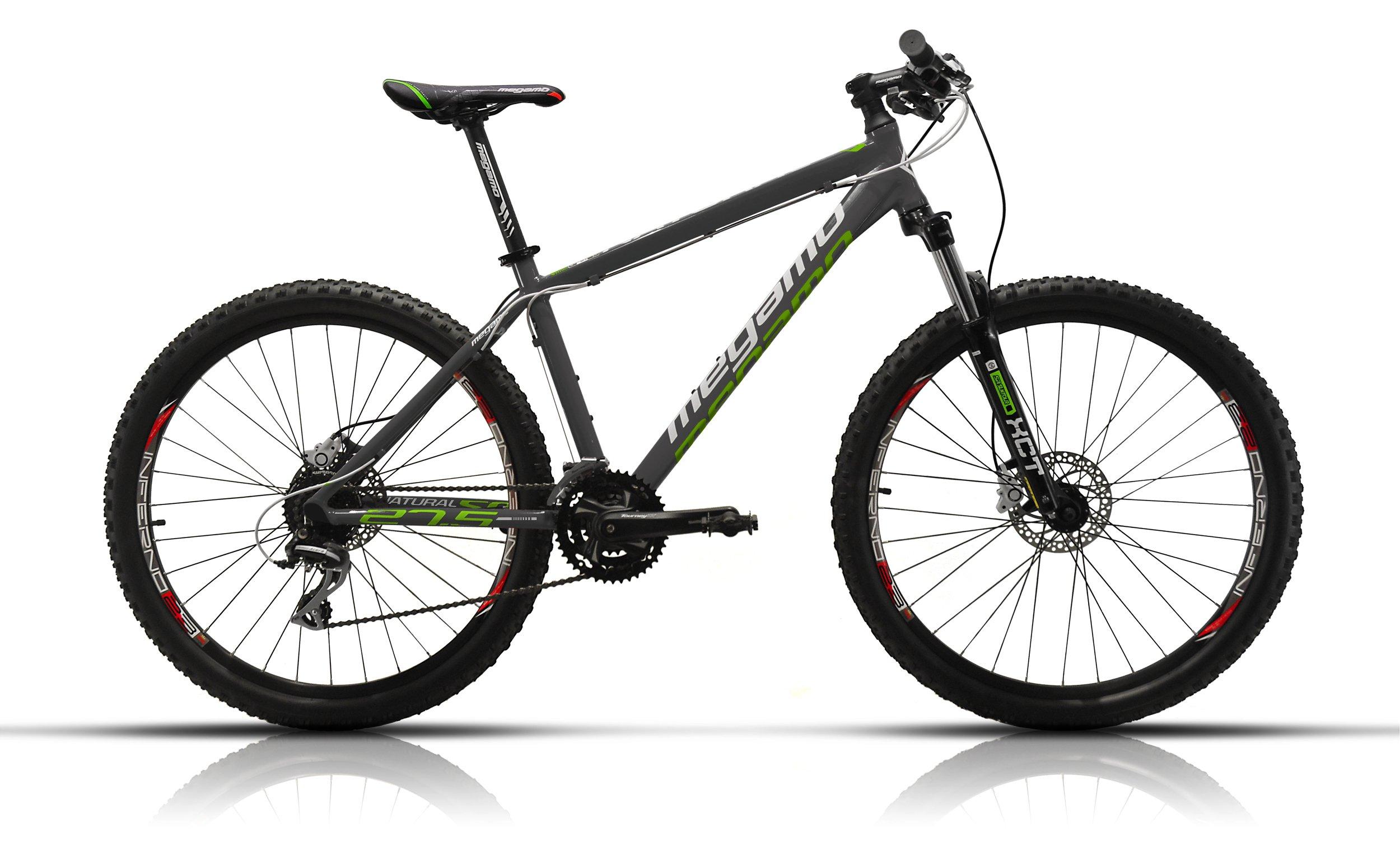 Megamo Natural 50 Bicicleta de Montaña, Hombre, Gris, L: Amazon.es ...