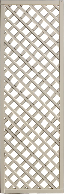 Andrewex wooden fence, garden fence, fencing panel 180x60, varnished, latte
