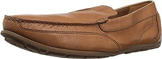 CLARKS Men's Benero Race Driving Style Loafer, Dark